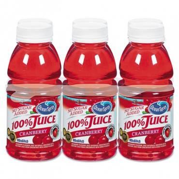 100% Juice, Cranberry, 10oz Bottle, 6/pack