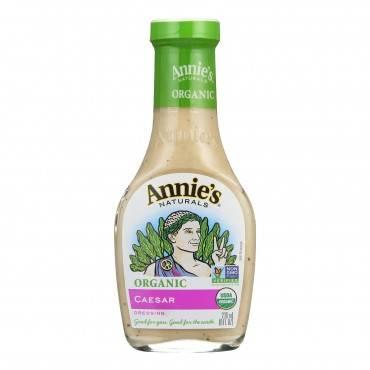 Annie's Naturals Organic Dressing Caesar - Case Of 6 - 8 Fl Oz.