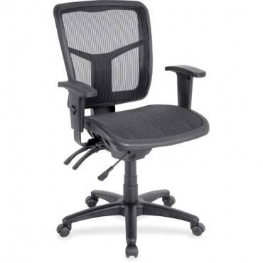 Lorell Mid-Back Swivel Mesh Chair (EA/EACH)