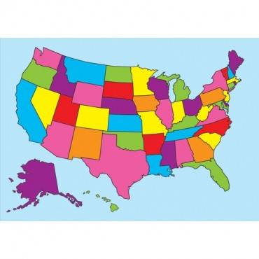 Ashley Magnetic United States Map (EA/EACH)