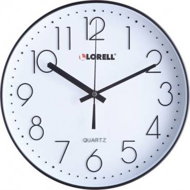"Lorell 12"" Quiet Wall Clock (EA/EACH)"
