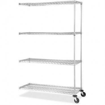 Lorell Industrial Wire Shelving Add-on Unit (EA/EACH)