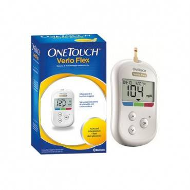 Onetouch Verio Flex Blood Glucose Monitoring System Part No. 02319402 (1/ea)