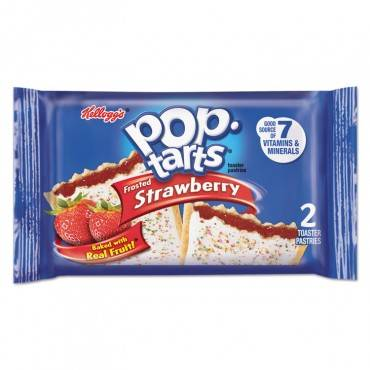 Pop Tarts, Frosted Strawberry, 3.39oz, 2/pack, 6 Packs/box