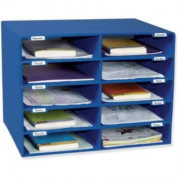 Classroom Keepers 10-Slot Mailbox (EA/EACH)