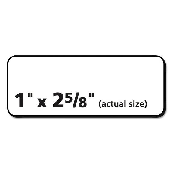 Address Labels With Sure Feed For Laser Printers 1 X 2 5 8: Avery Easy Peel Mailing Address Labels, Inkjet, 1 X 2 5/8