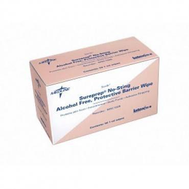 Sureprep No-Sting Skin Protective Wipe (50/Box)