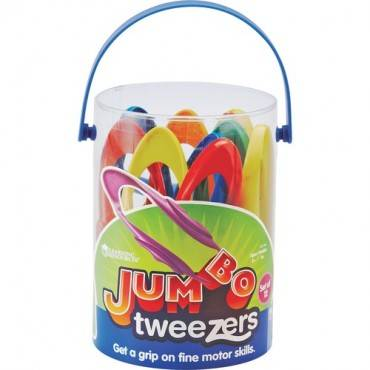 Learning Resources Jumbo Tweezers Set (ST/SET)