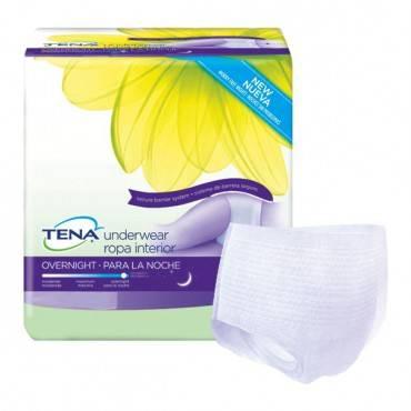 "Tena Overnight Underwear, Large, 39"" - 52"" (14/Package)"