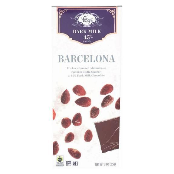Vosges Haut-chocolat 45% Cacoa Dark Milk Chocolate Bar ...