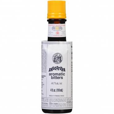 Angostura Aromatic Bitters - Case Of 12 - 4 Fl Oz.