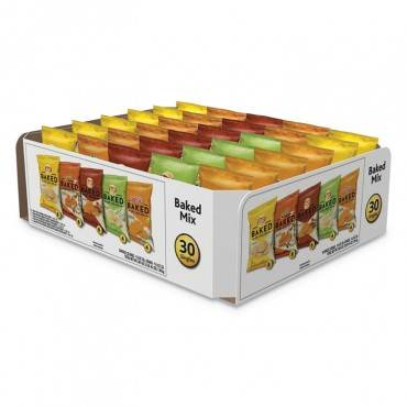 Frito Lay BAKED VARIETY PACK, BBQ/CHEDDAR & SOUR CREAM/CLASSIC/SOUR CREAM & ONION, 30/BOX 92268 30 Box