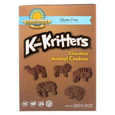 Kinnikinnick Animal Cookies - Case Of 6 - 8 Oz.