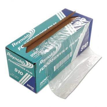 """Pvc Film Roll With Cutter Box, 12"""" X 2000 Ft, Clear"""