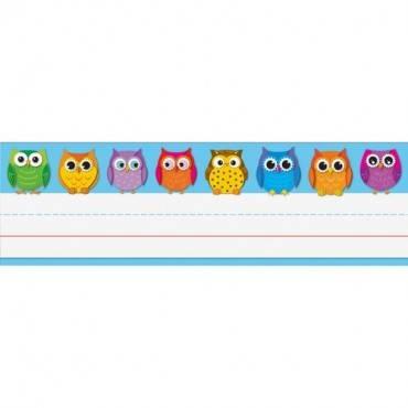 Carson-Dellosa Owl Nameplates (PK/PACKAGE)