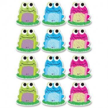 Ashley Scribble Frog Design Dry-erase Magnet (ST/SET)