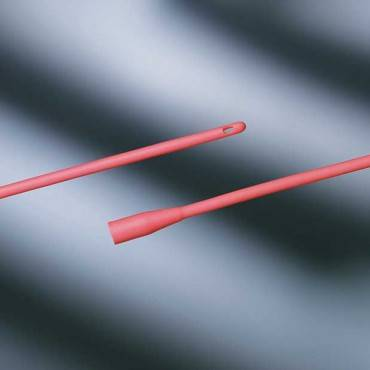 """Bard Red Rubber All-purpose Urethral Catheter 20 Fr 16"""" Part No. 277720 (1/ea)"""