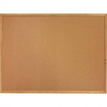 Lorell Oak Wood Frame Cork Board (EA/EACH)