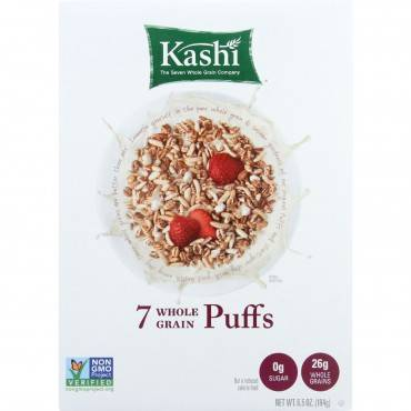 Kashi Cereal - 7 Whole Grain - Puffs - 6.5 Oz - Case Of 10