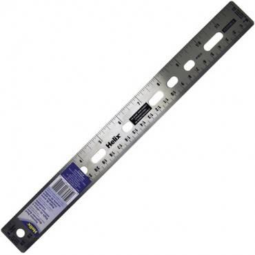 "Helix 12"" Stainless Steel Ruler (EA/EACH)"
