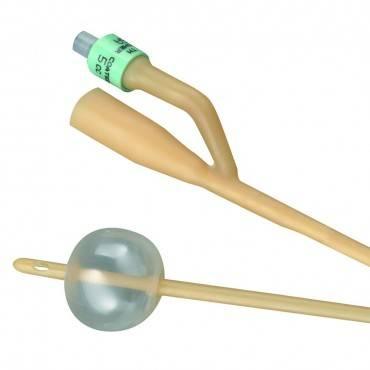 Bardia 2-way Silicone-elastomer Coated Latex Foley Catheter 20 Fr 5 Cc Part No. 123520a (1/ea)