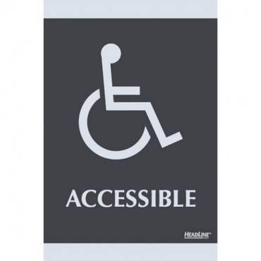 HeadLine Century Handicap Accessible Sign (EA/EACH)