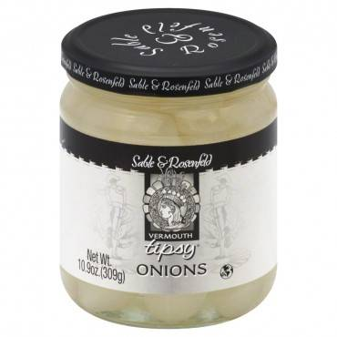 Sable And Rosenfeld Vermouth Tipsy - Onions - Case Of 6 - 10.9 Oz.