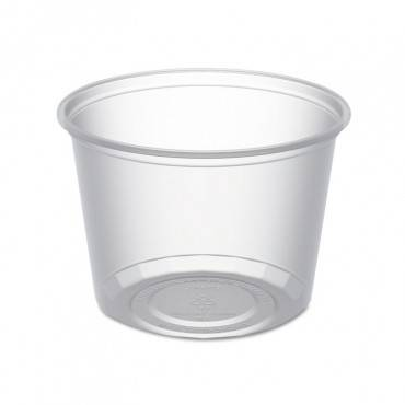 Anchor Packaging Microlite Deli Tub, 16 Oz, Clear, 500/carton D16CXL 500 Case