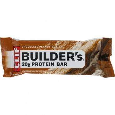 Clif Bar Builder Bar - Chocolate Peanut Butter - Case Of 12 - 2.4 Oz