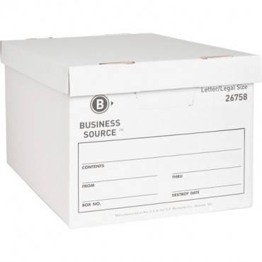Business Source Lift-off Lid Medium Duty Storage Box (CA/CASE)