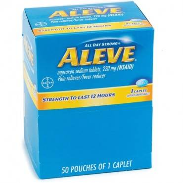 Aleve Pain Reliever Tablets (BX/BOX)