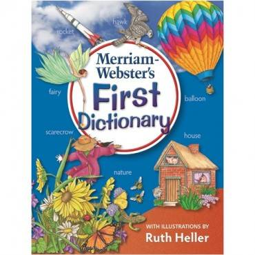 Merriam-Webster First Dictionary Dictionary Printed Book - English (EA/EACH)