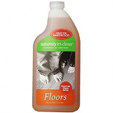 Naturally Clean Floor Cleaner Spray - Case Of 6 - 24 Fl Oz.