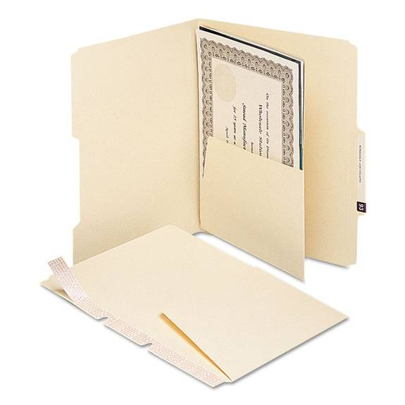 Smead Mla Self-adhesive Folder Dividers With 5-1/2 Pockets