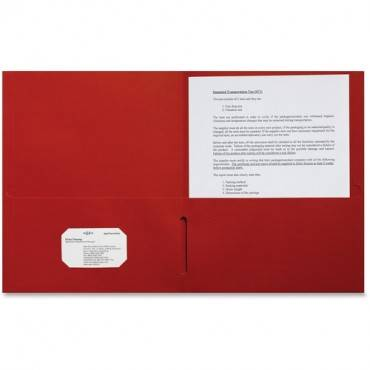 Sparco 2-pocket Leatherette Portfolio (BX/BOX)