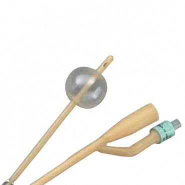 Bardia 2-way Silicone-coated Foley Catheter 18 Fr 30 Cc Part No. 123618a (1/ea)