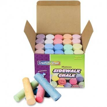Creativity Street Tub of Sidewalk Chalk (BX/BOX)