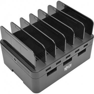 Tripp Lite 5-Port USB Fast Charging Station Hub/ Device Organizer 12V4A 48W (EA/EACH)