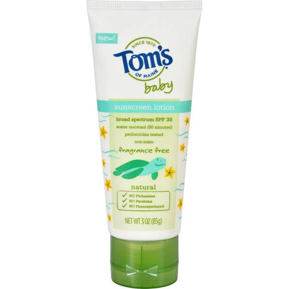 Toms Of Maine Sunscreen Baby Fragrance Free 3 Oz