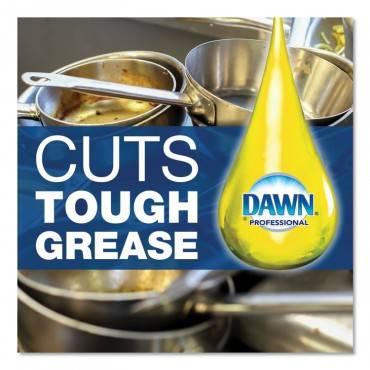 Dawn  Professional MANUAL POT AND PAN DISH DETERGENT, LEMON SCENT, LIQUID, 5 GAL PAIL 70682 1 Each