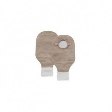"""New Image 2-piece Drainable Pouch 1-3/4"""" With Filter, Beige Part No. 18142 (10/box)"""