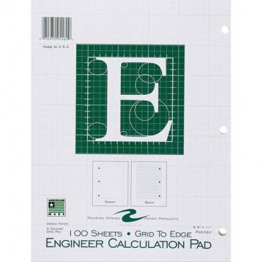 Roaring Spring Engineer Calculation Pads - Letter (EA/EACH)