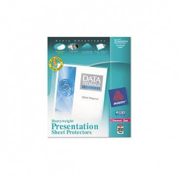 Top-load Poly Sheet Protectors, Heavy, Letter, Diamond Clear, 200/box