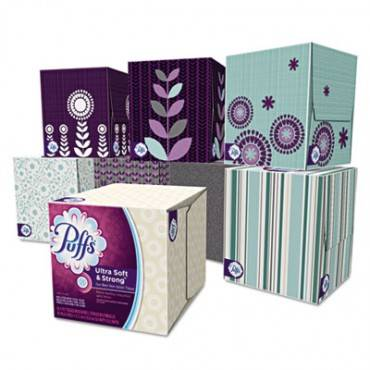 Ultra Soft Facial Tissue, 2-ply, White, 56 Sheets/box, 24 Boxes/carton