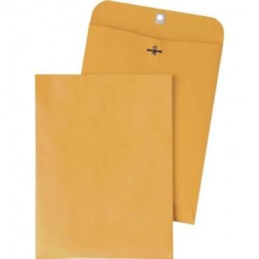 Quality Park Gummed Kraft Clasp Envelopes (BX/BOX)
