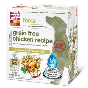 The Honest Kitchen Force - Grain Free Chicken Dog Food - 10 Lb.