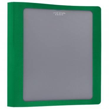 "Five Star Customizable 1-1/2"" D-ring Plastic Binder (EA/EACH)"