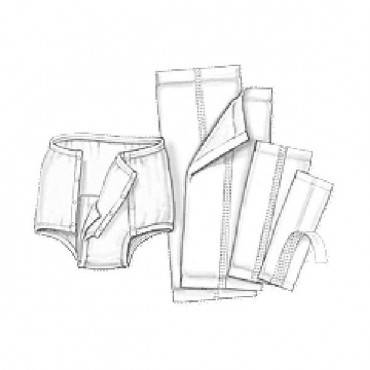 "Simplicity Garment Liner 7"" X 17"" Part No. 635 (200/case)"