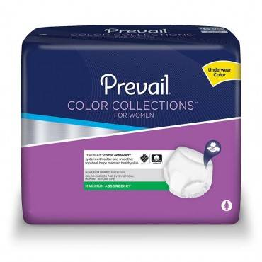 """Prevail Colorcollections For Women Large 44"""" X 54"""" Part No. Pwv-513 (18/package)"""