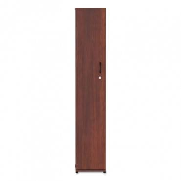 Alera  ALERA VALENCIA SERIES WARDROBE, 11 7/8W X 23 5/8D X 65H, MEDIUM CHERRY ALEVA621224MC 1 Each